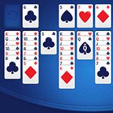 Скриншот к игре Пасьянс Косынка