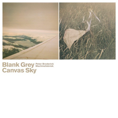 Blank Grey Canvas Sky